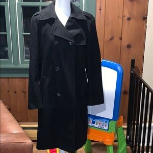 EUC Gap Black Pea Coat
